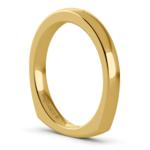 Rocker (European) Wedding Ring in Yellow Gold (2.5mm) | Thumbnail 05