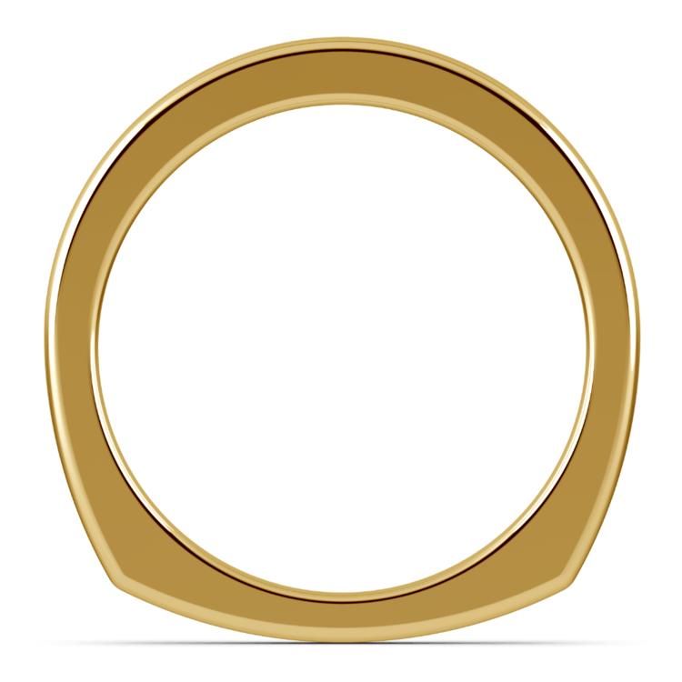 Rocker (European) Wedding Ring in Yellow Gold (2.5mm) | 03