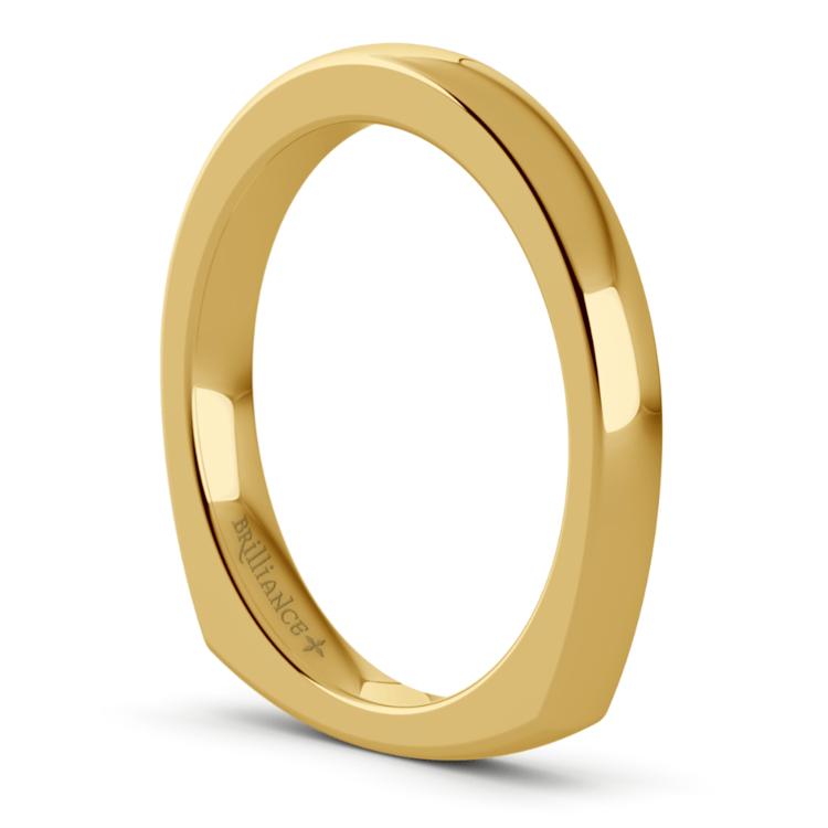 Rocker (European) Wedding Ring in Yellow Gold (2.5mm) | 05