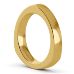Rocker Wedding Ring in Yellow Gold (3.5mm) | Thumbnail 04
