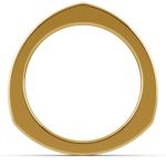 Rocker Wedding Ring in Yellow Gold (3.5mm) | Thumbnail 03