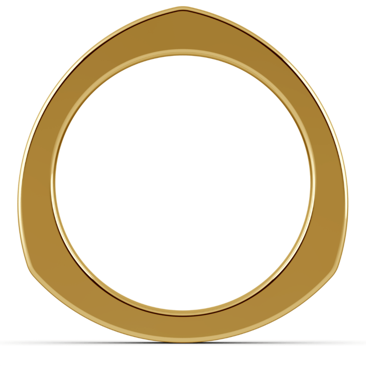 Rocker Wedding Ring in Yellow Gold (3.5mm) | 03