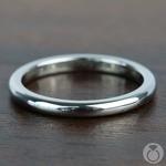 Round Wedding Ring in Tungsten (2mm) | Thumbnail 04