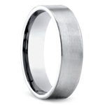 Satin Men's Wedding Ring in Platinum | Thumbnail 02