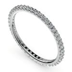 Scallop Diamond Eternity Ring in Palladium | Thumbnail 01