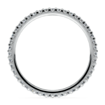 Scallop Diamond Eternity Ring in Palladium | Thumbnail 03