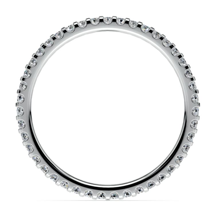 Scallop Diamond Eternity Ring in Palladium | 03