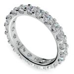 Scallop Diamond Eternity Ring in Platinum (2 ctw) | Thumbnail 01