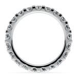 Scallop Diamond Eternity Ring in Platinum (2 ctw) | Thumbnail 03