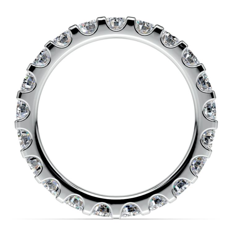 Scallop Diamond Eternity Ring in Platinum (2 ctw) | 03