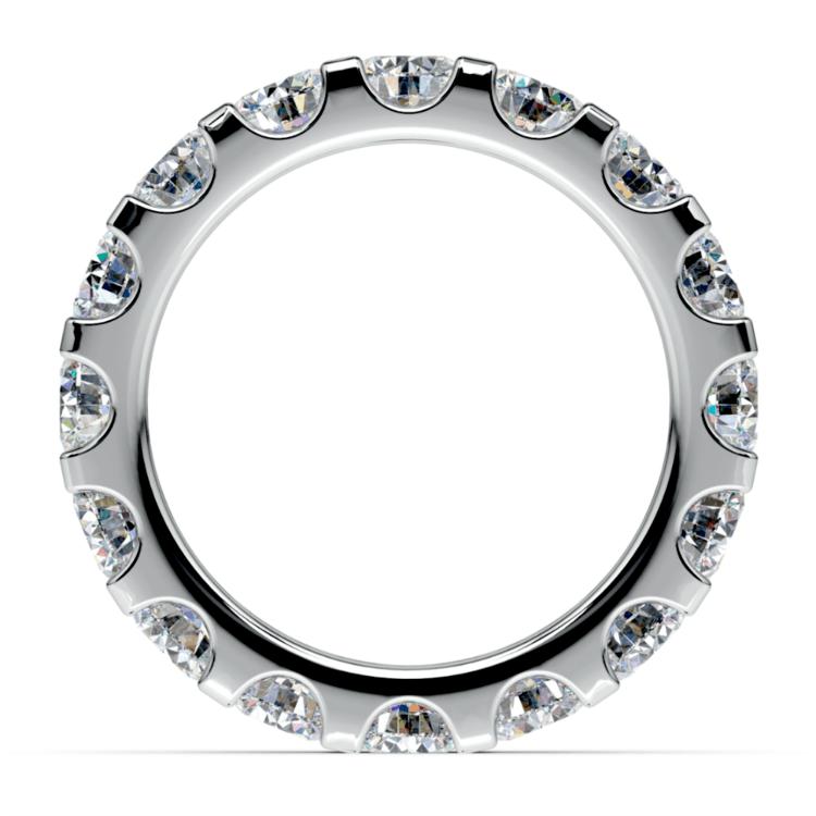 Scallop Diamond Eternity Ring in Platinum (4 ctw) | 03