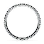 Scallop Diamond Eternity Ring in White Gold (1 ctw) | Thumbnail 03