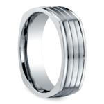 Sectional Men's Wedding Ring in Titanium | Thumbnail 02
