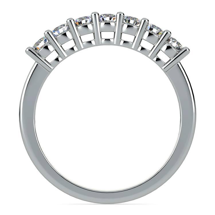 Seven Diamond Wedding Ring in Platinum (1/2 ctw) | 03