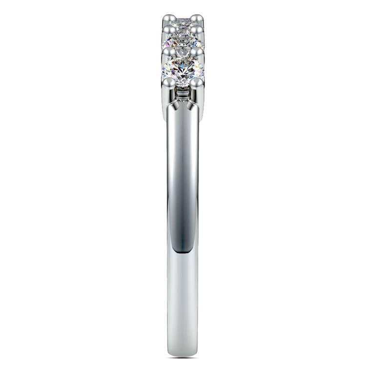 Seven Diamond Wedding Ring in Platinum (1/2 ctw) | 05