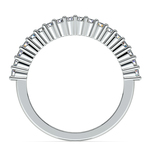 Shared Prong Diamond Wedding Ring in Palladium | Thumbnail 03