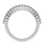 Closed Gallery Diamond Wedding Ring in Platinum  | Thumbnail 03