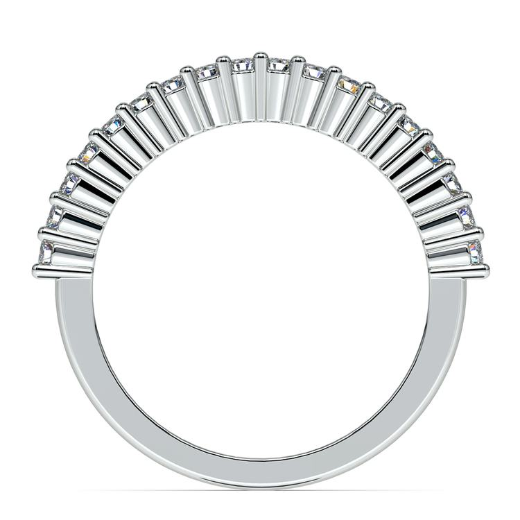 Closed Gallery Diamond Wedding Ring in Platinum  | 03