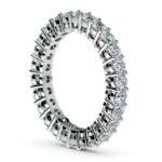 Open Gallery Diamond Eternity Ring in Platinum | Thumbnail 04