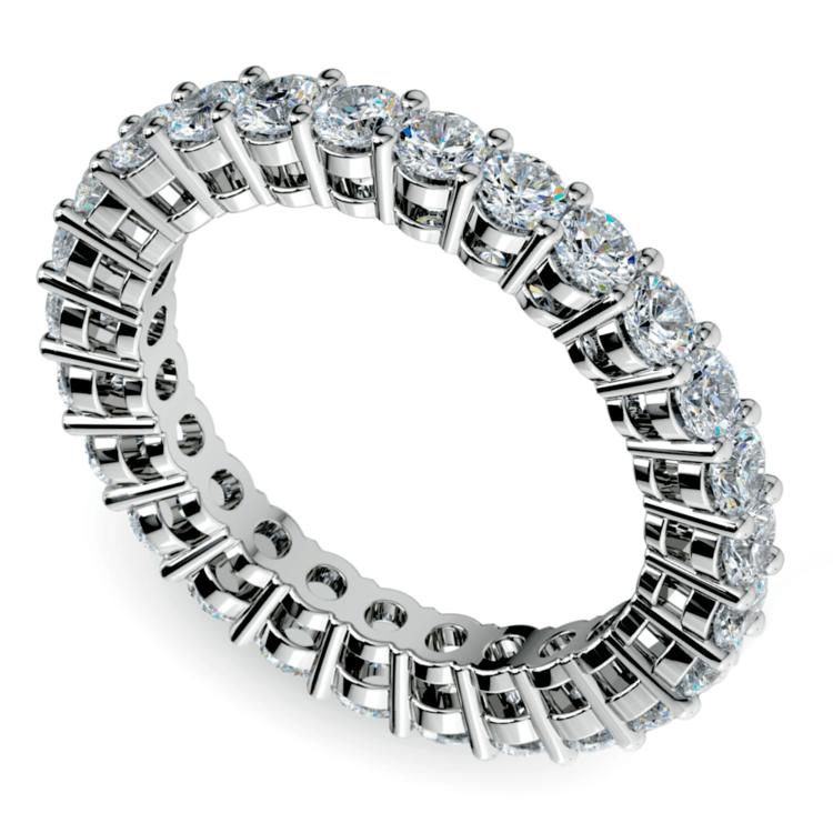 Open Gallery Diamond Eternity Ring in Platinum | 01