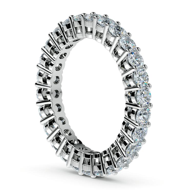 Open Gallery Diamond Eternity Ring in Platinum | 04