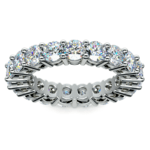 Diamond Eternity Ring in Platinum (4 ctw) | Thumbnail 02