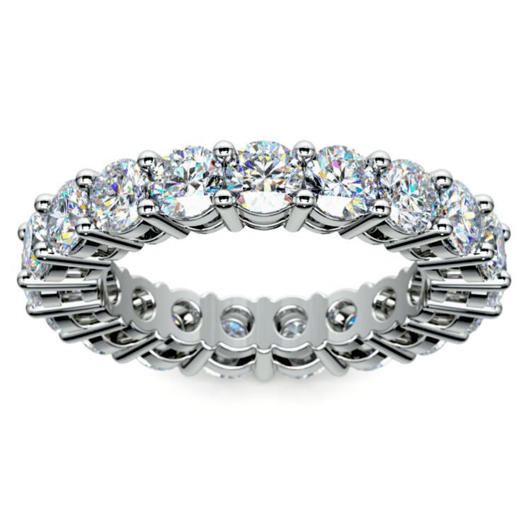 Diamond Eternity Ring in Platinum (4 ctw) | 02