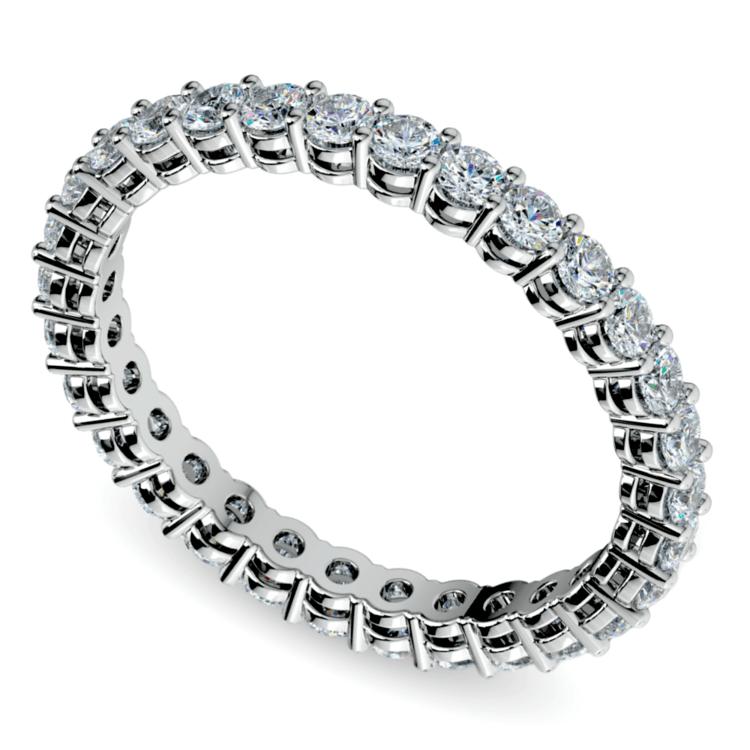 Diamond Eternity Ring in Platinum (1 ctw) | 01