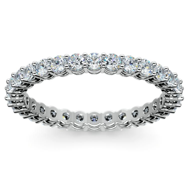 Diamond Eternity Ring in Platinum (1 ctw) | 02