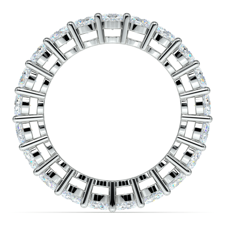 Diamond Eternity Band in White Gold (3 ctw) | 03
