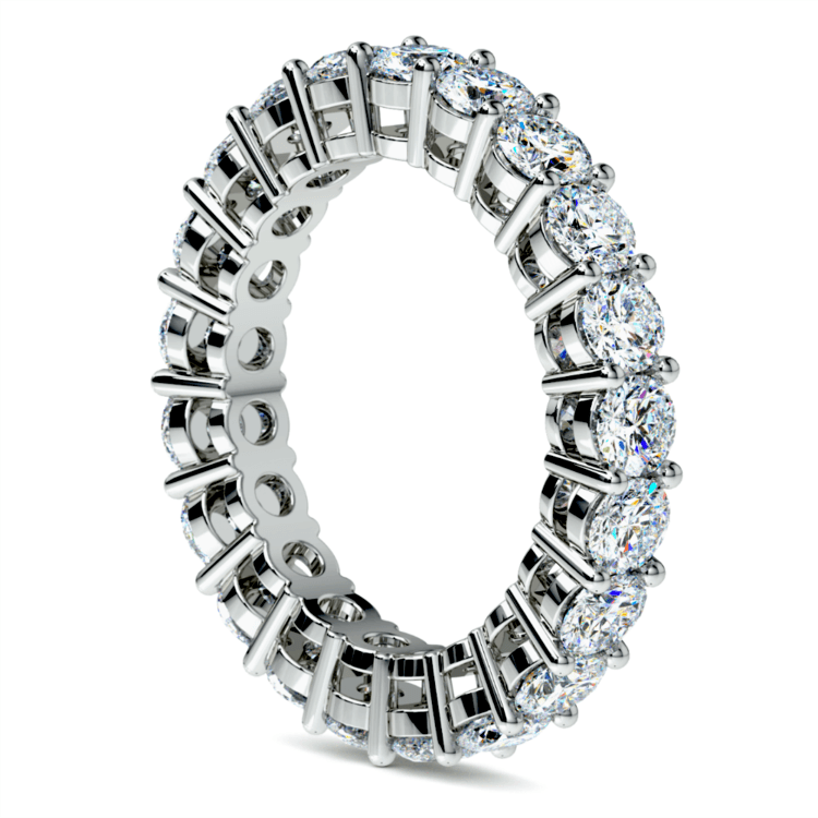 Diamond Eternity Band in White Gold (3 ctw) | 04