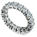 Diamond Eternity Ring in White Gold (4 ctw) | Thumbnail 01