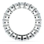 Diamond Eternity Ring in White Gold (4 ctw) | Thumbnail 03