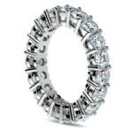 Diamond Eternity Ring in White Gold (4 ctw) | Thumbnail 04