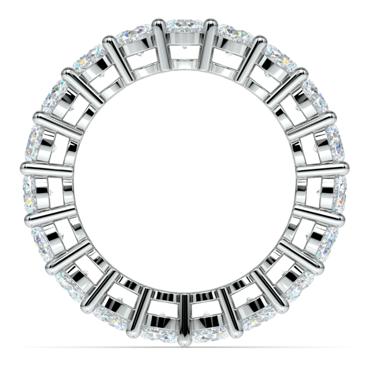 Diamond Eternity Ring in White Gold (4 ctw) | 03