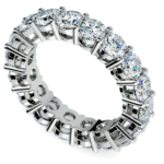 Diamond Eternity Ring in White Gold (5 ctw) | Thumbnail 01