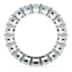 Diamond Eternity Ring in White Gold (5 ctw) | Thumbnail 03