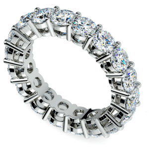 Diamond Eternity Ring in White Gold (5 ctw)