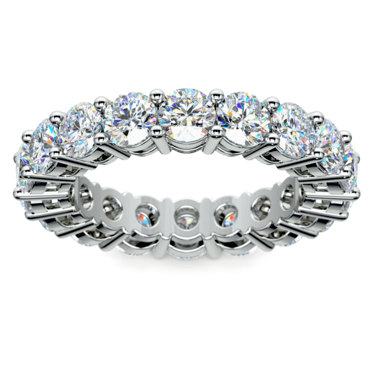 Diamond Eternity Ring in White Gold (5 ctw) | 02
