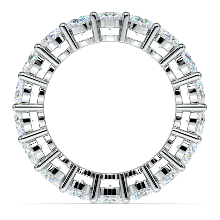Diamond Eternity Ring in White Gold (5 ctw) | 03