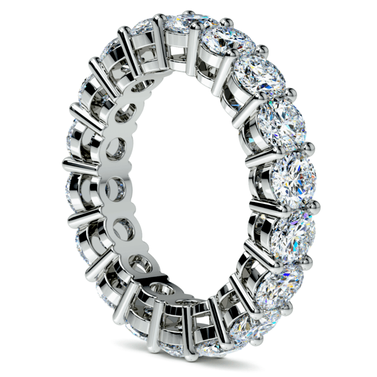 Diamond Eternity Ring in White Gold (5 ctw) | 04