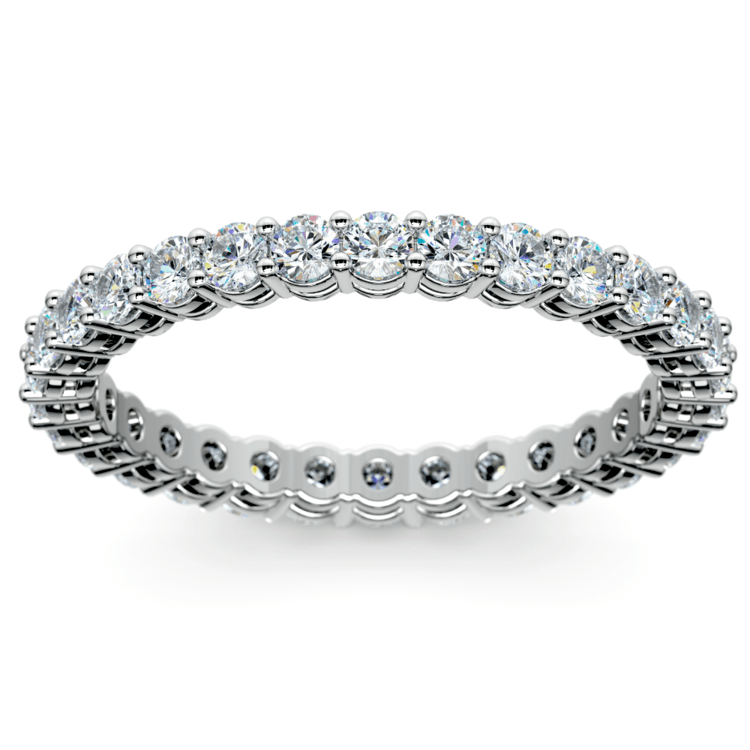 Diamond Eternity Band in White Gold (1 ctw) | 02