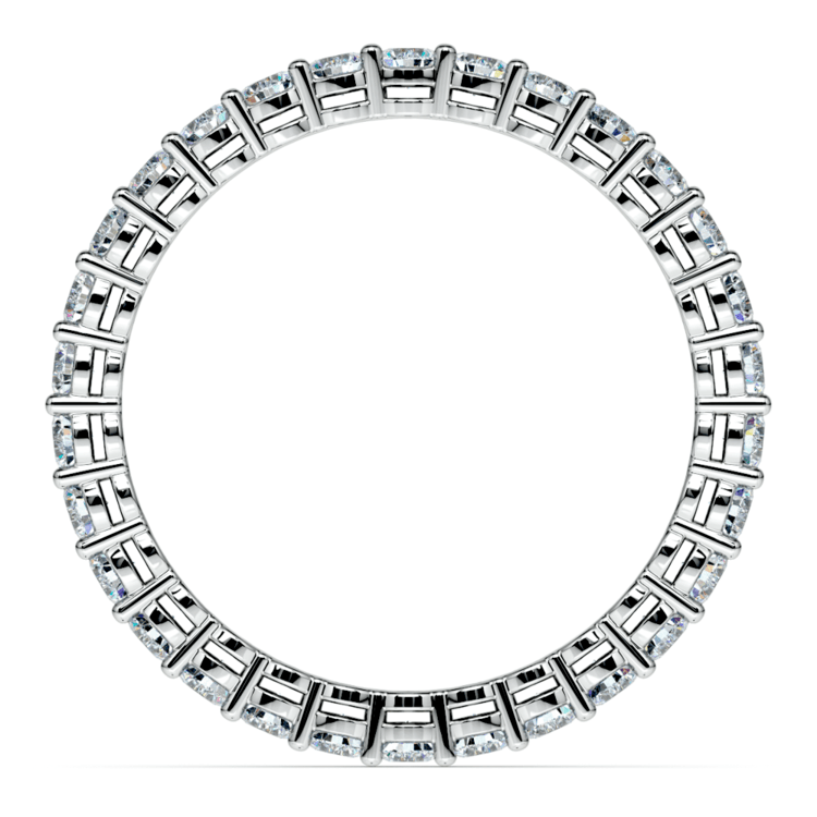 Diamond Eternity Band in White Gold (1 ctw) | 03