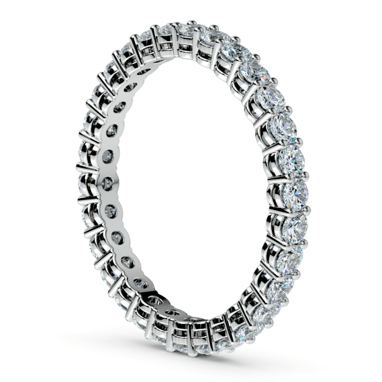 Diamond Eternity Band in White Gold (1 ctw) | 04