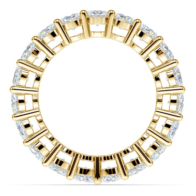 Diamond Eternity Ring in Yellow Gold (4 ctw) | 03