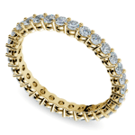 Diamond Eternity Band in Yellow Gold (1 ctw) | Thumbnail 01