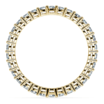 Diamond Eternity Band in Yellow Gold (1 ctw) | Thumbnail 03