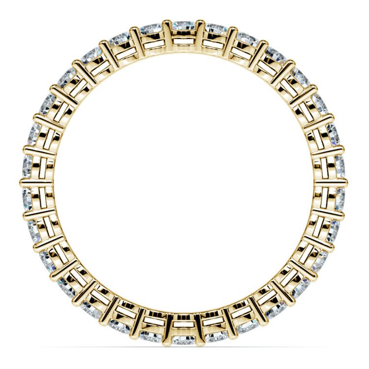 Diamond Eternity Band in Yellow Gold (1 ctw) | 03
