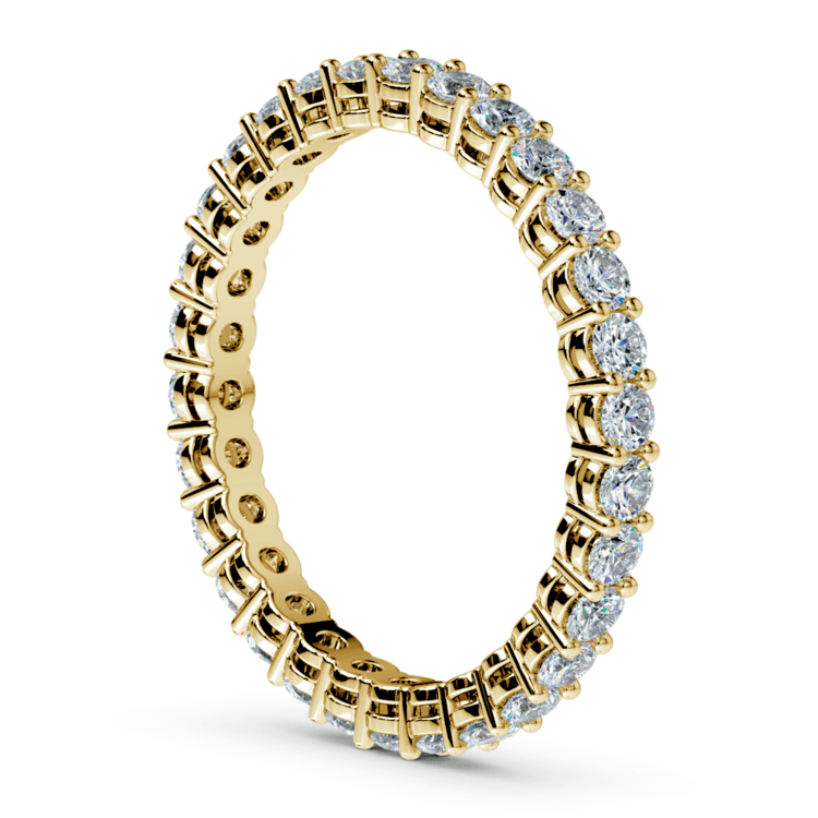Diamond Eternity Band in Yellow Gold (1 ctw) | 04