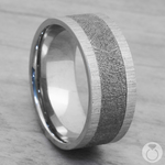 Star Crossed - Cobalt Mens Band with Meteorite Inlay | Thumbnail 05
